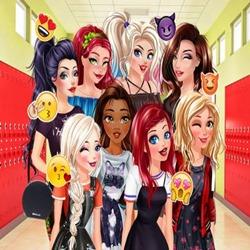 العاب تلبيس بنات المدرسة الثانوية