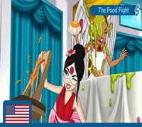 food fight dc super hero girls