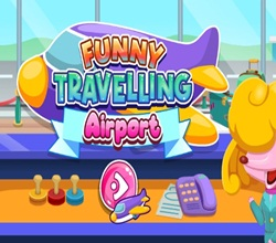 funny travelling airport