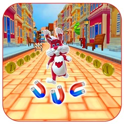 Subway Bunny Run Rush Rabbit Runner