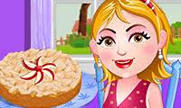 لعبة كعكة اللوز والتفاح