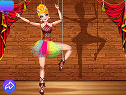لعبة راقصة الباليه coppelia