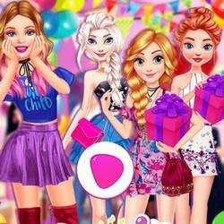 عودة الأميرة إلى لعبة حفلة المدرسة