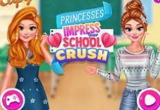 الأميرة اعجاب لعبة سحق مدرستك